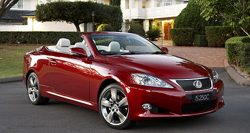 All Lexus Car In Review Lexus Is 250 C Convertible