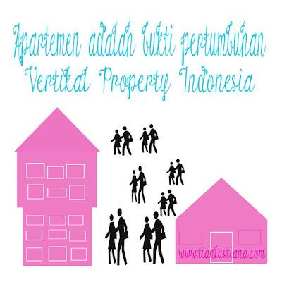 Apartemen bukti pertumbuhan vertikal property Indonesia