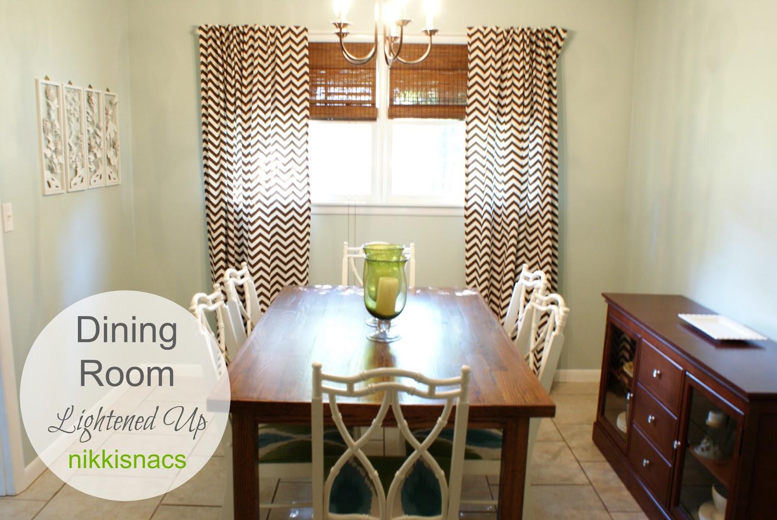 Nikkis 39 nacs dining room homeschool room lightened up for Homeschool dining room ideas