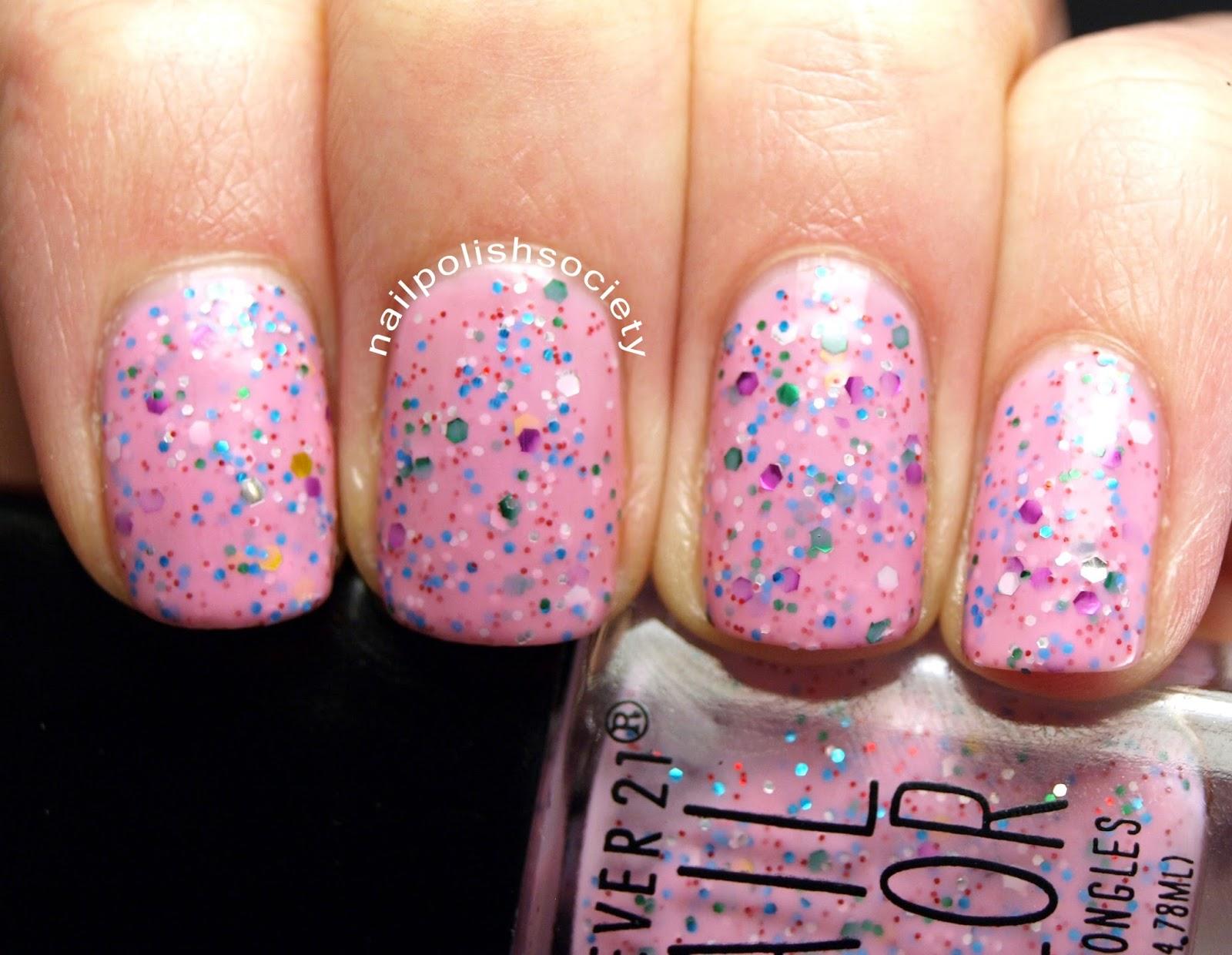 Nail Polish Society: Forever 21 Love & Beauty Nail Polish Swatches ...