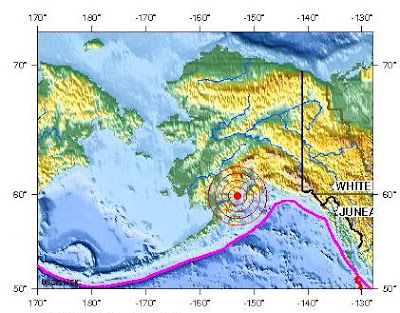 alaska earthquake 2012 january 30