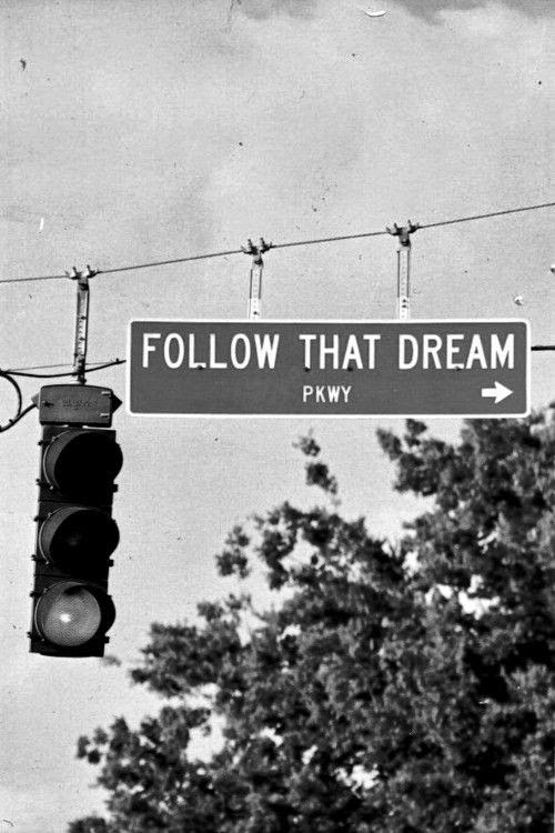 Follow That Dream Quote