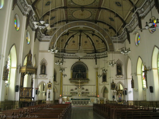 Interior of Kalawar Church
