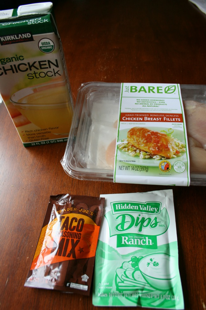 Cool Ranch Crockpot Chicken Tacos Or Tostadas Family Fresh Meals