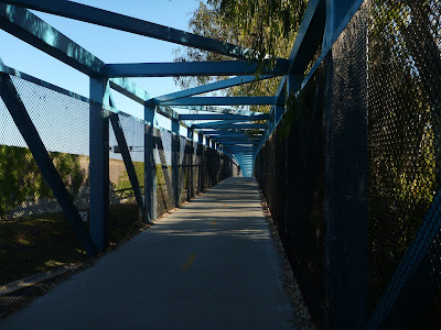 Stevens Creek Trail Bridge Near Moffett Field Boulevard and West Valley Freeway (85)