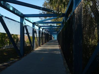 Stevens Creek Trail Bridge Near Moffett Field Boulevard and West Valley Freeway (85)