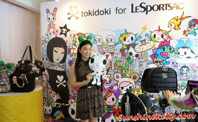 tokidoki for LeSportsac Fall 2014 Collection, tokidoki, lesportsac, tokidoki haage-dazs, autumn winter 2014 collection,