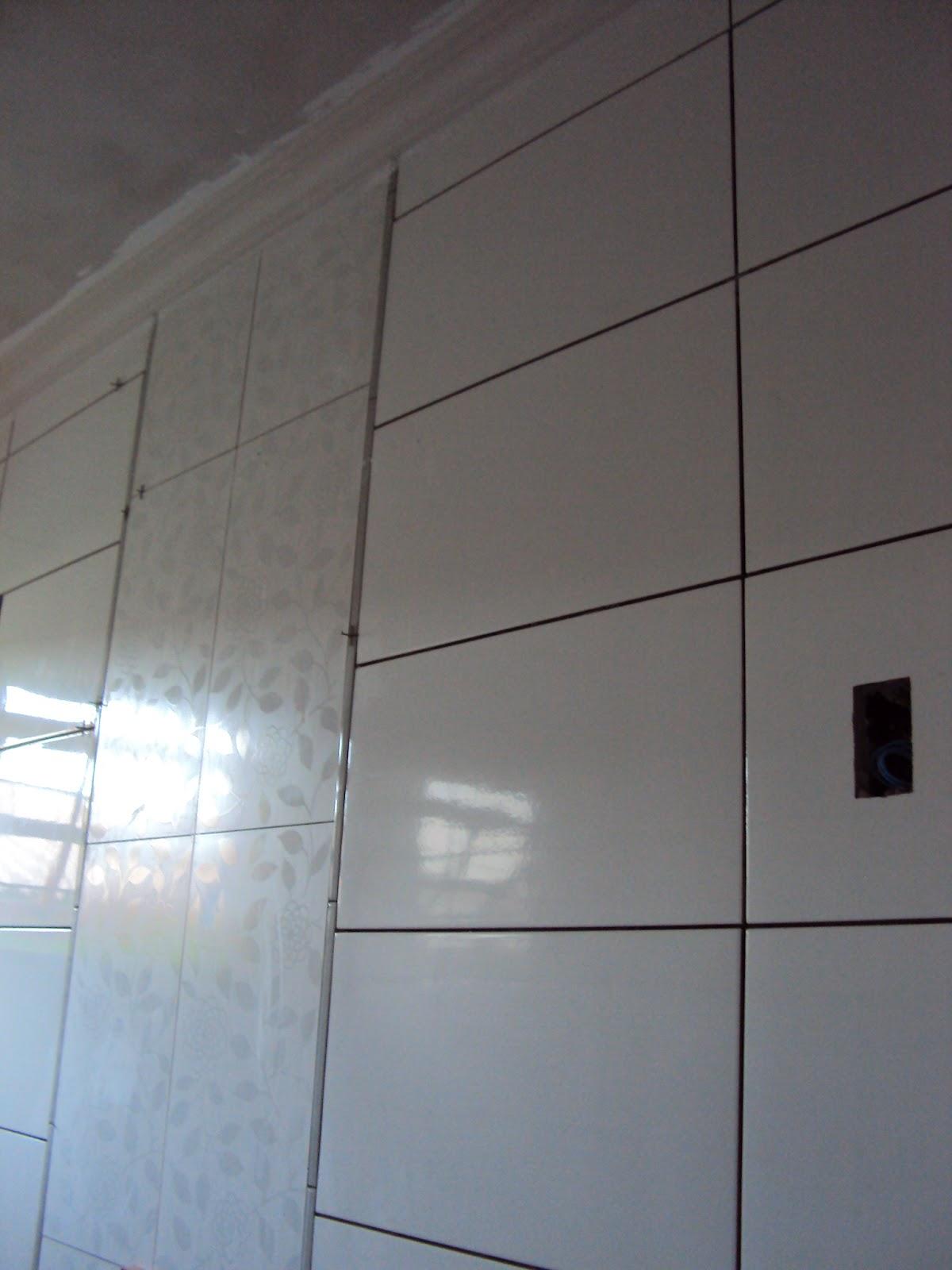 VIAGEM 2014: Gesso e revestimentos dos banheiros!! #4C677F 1200 1600