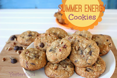 Summer Energy cookies