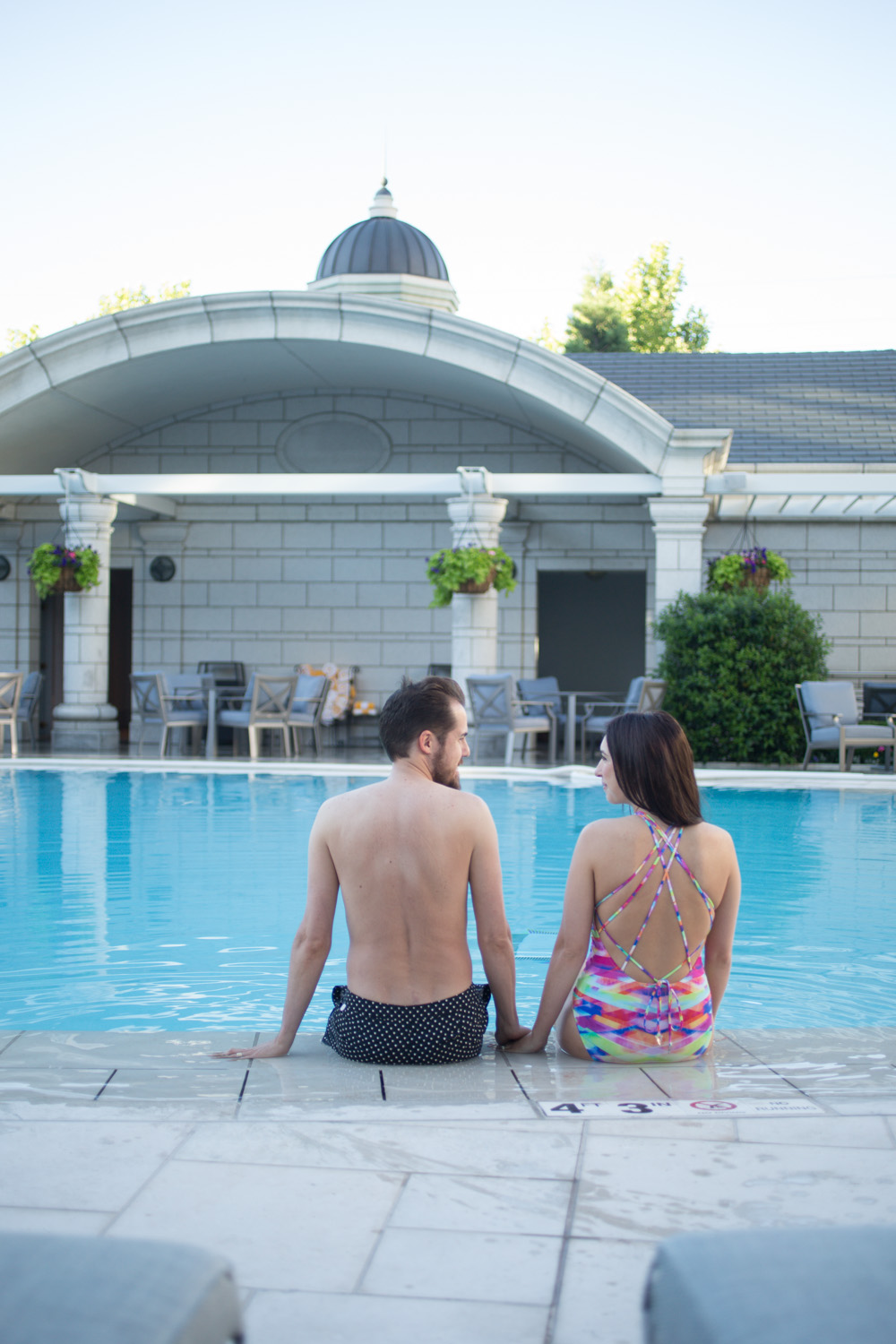 The Grand America Hotel Outdoor Pool Review