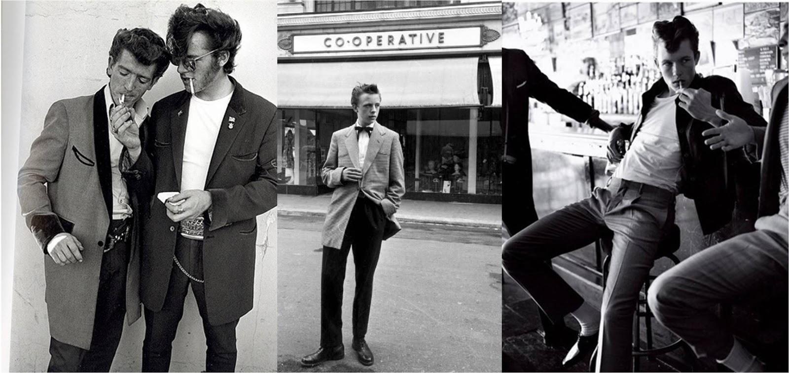 3bc3a12b9522e Creeper, casaco e gravata fazem parte desse estilo. Atualmente, os garotas  da banda de indie rock do Reino Unido Artic Monkeys tem se inspirado  bastante ...