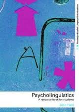 Psycholinguistics John Field Book Cover