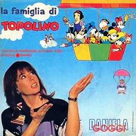 DANIELA  GOGGI: La Famiglia di Topolino (1986)