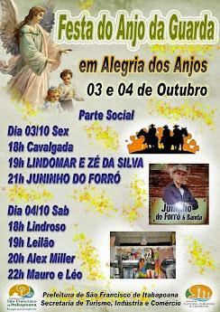 EM ALEGRIA DOS ANJOS SÃO FRANCISCO DE ITABAPOANA RJ