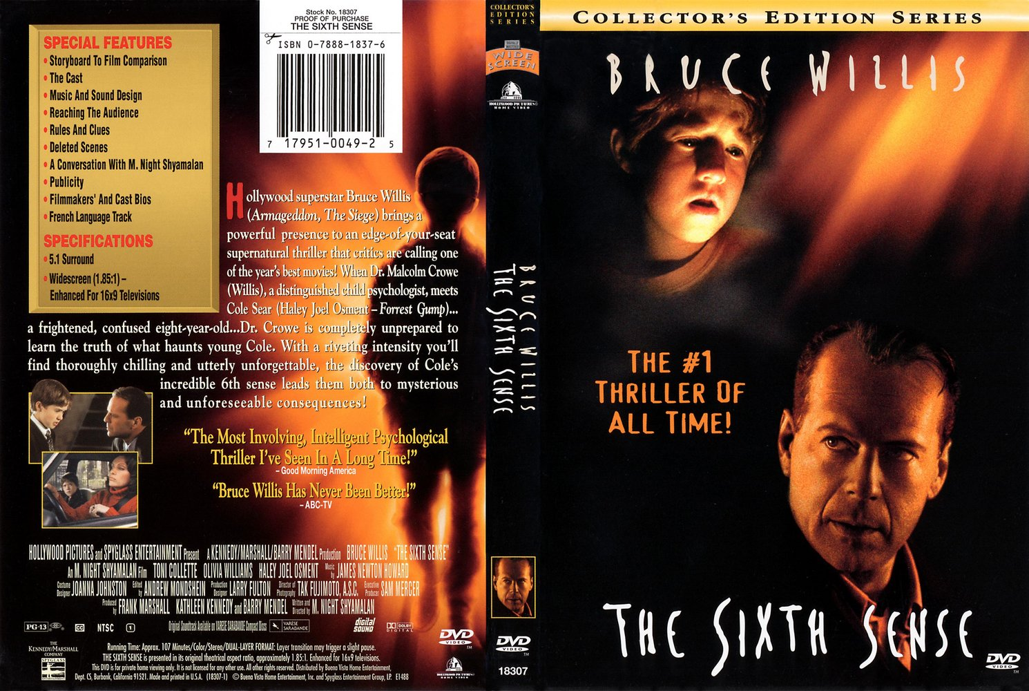 Thesixthsense 5bcdcoverscc 5d front