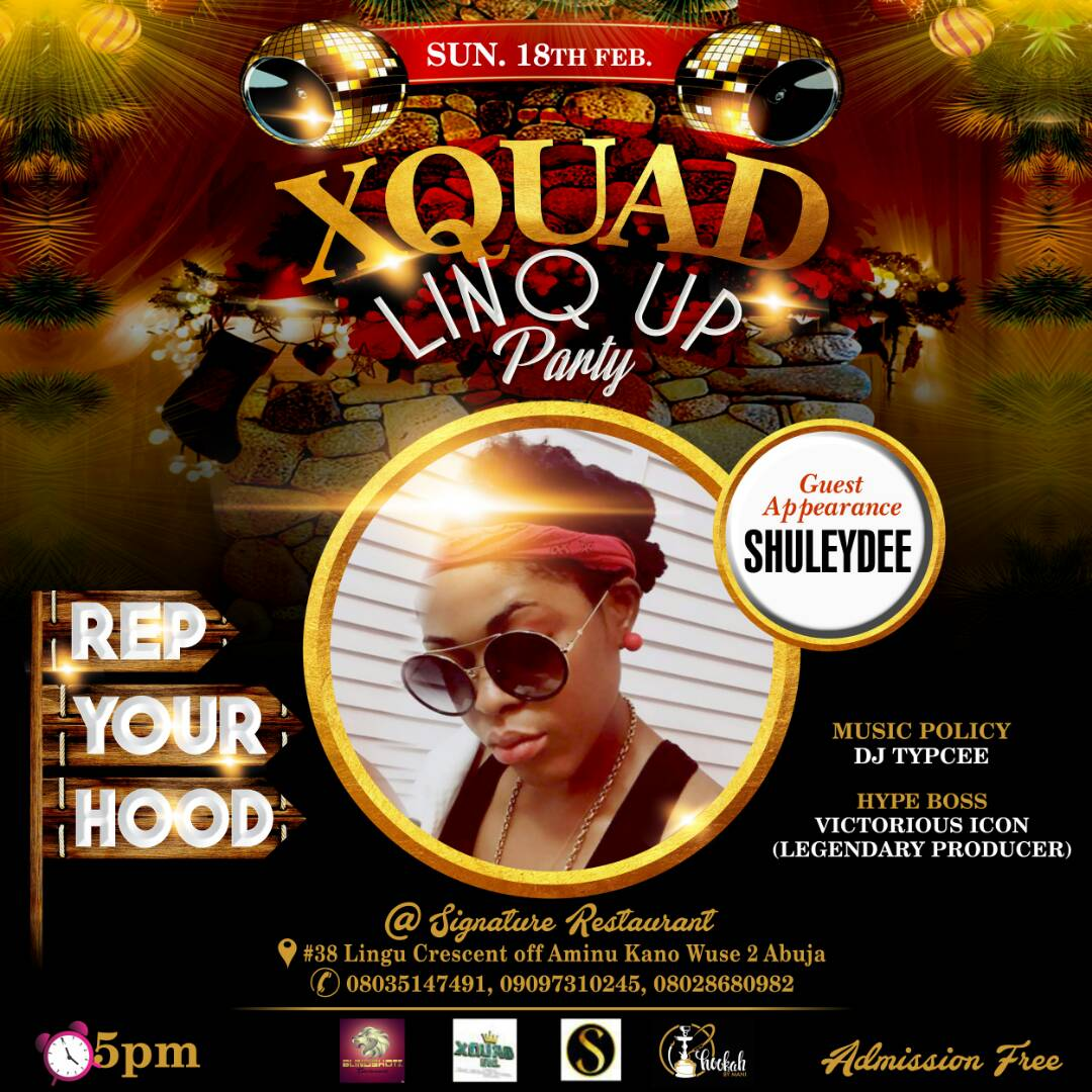 EVENTS ABUJA : LINQ UP PARTY