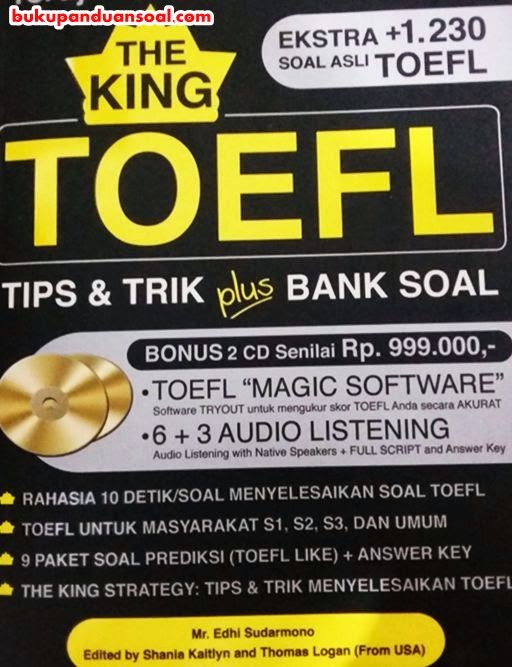 Buku Panduan Soal Tes TOEFL