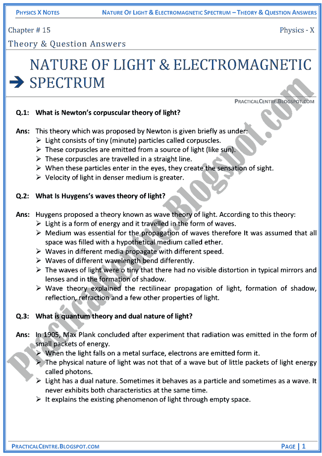 nature-of-light-and-electromagnetic-spectrum-theory-and-question-answers-physics-x