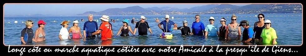 ➽ Marche aquatique côtière pour nos escapades varoises...