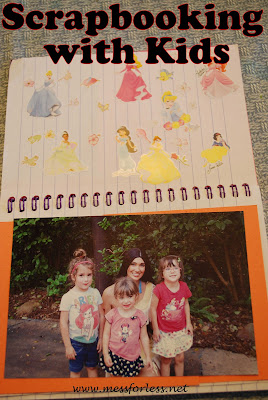 Scrapbooking Ideas for Kids, #scarpbooking