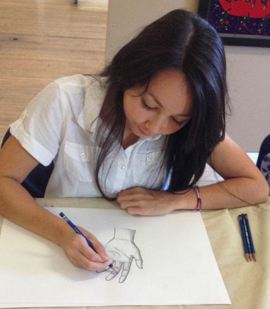 Art Lessons for Teens - Atascadero - Intermediate Art