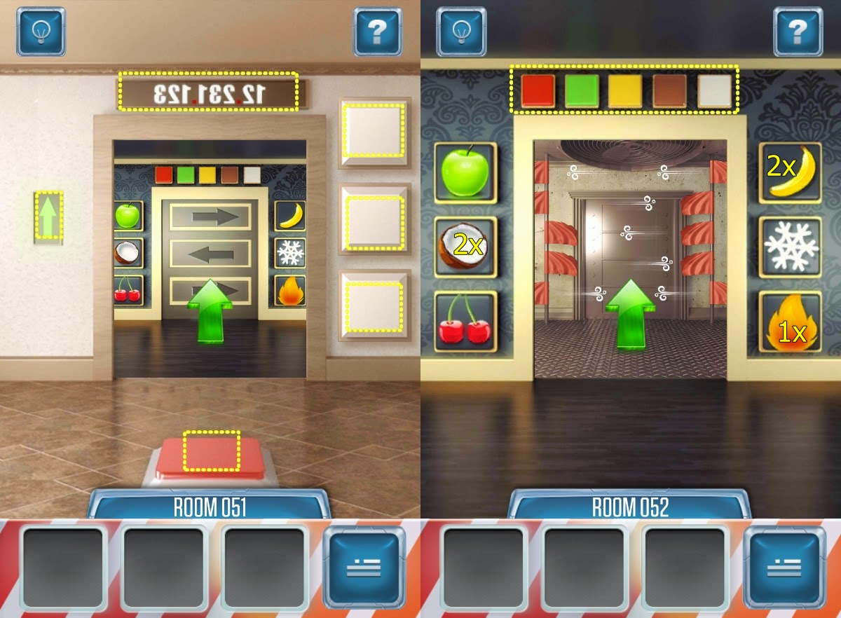 100 Doors Return Level 51 52 53 54 55 Hints