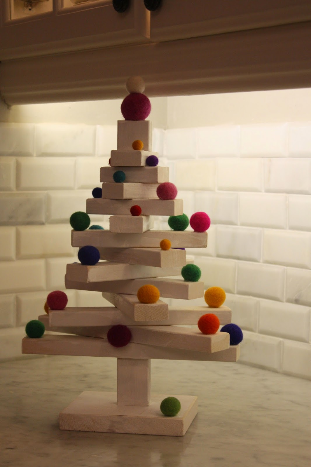 diy scrap wood christmas tree - Wood Christmas Tree