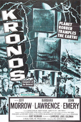 Poster - Kronos (1957)