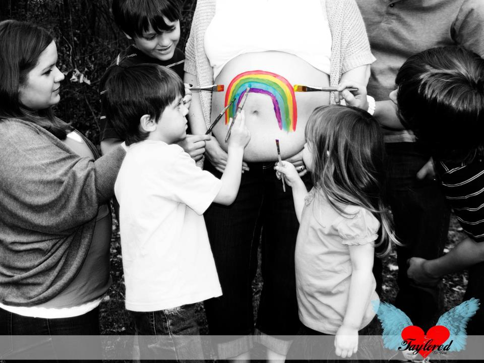 Memories For Today Our Rainbow Baby