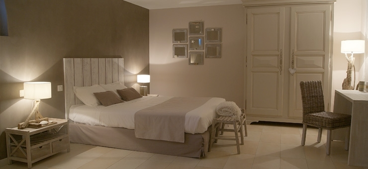 chambre couleur lin