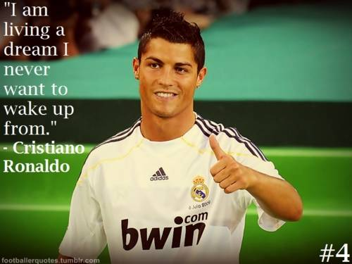 Delightful Cristiano Ronaldo Quotes 2013 Wallpaper