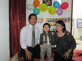My Little Family In My Son's Birthday