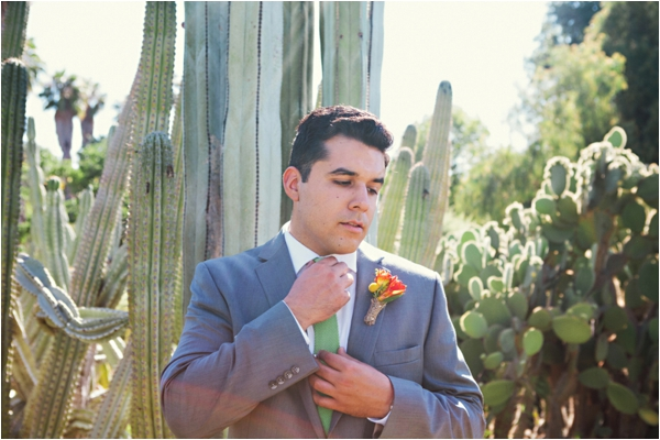 Fullerton Arboretum Wedding by Jen Disney (www.jendisney.com) #groom