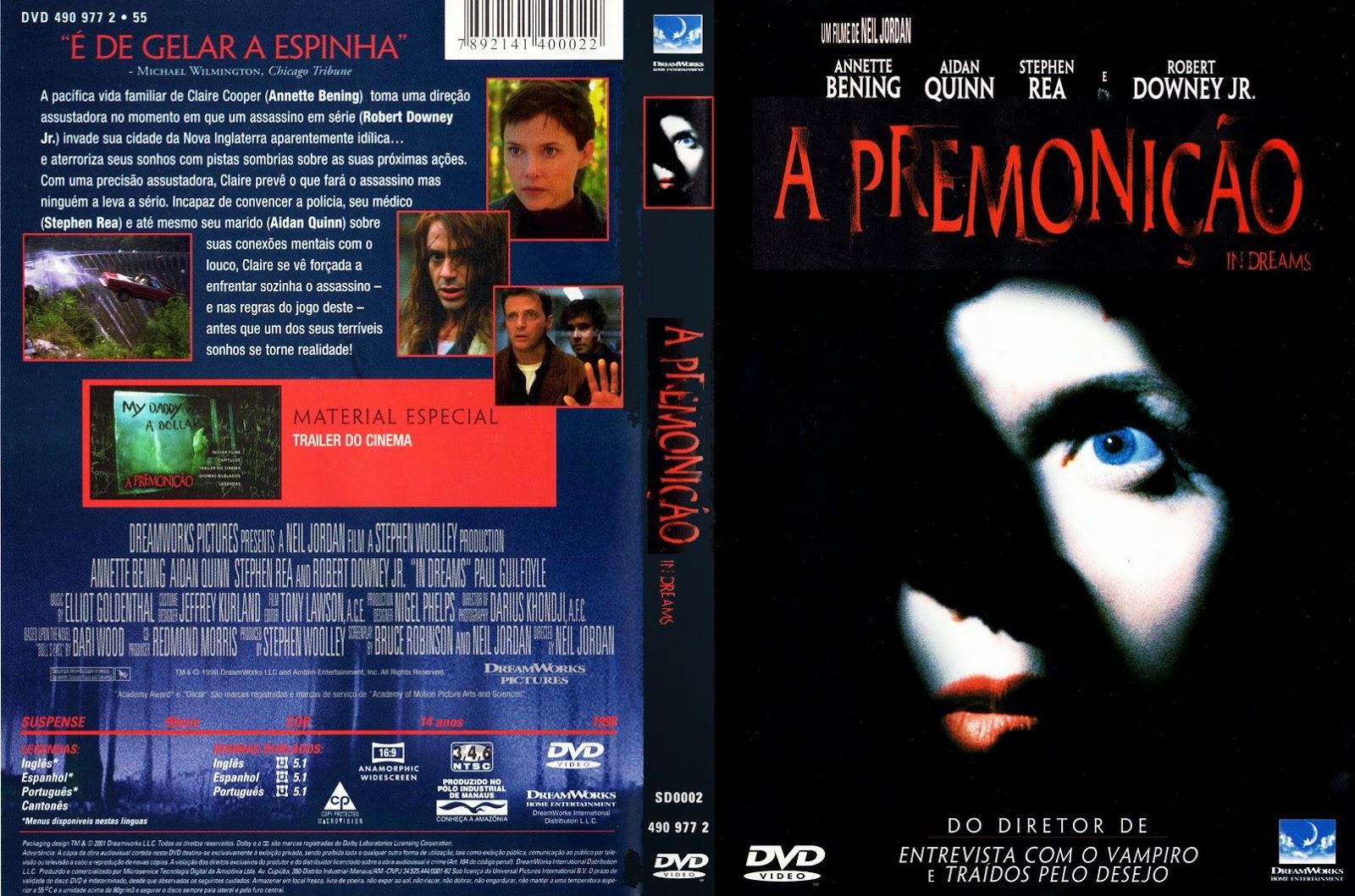 Capa DVD A Premonição