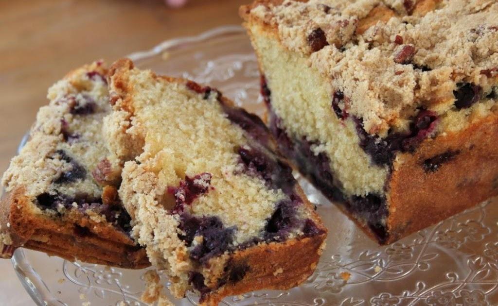 Hummingbird Bakery Blueberry Crumble Cake