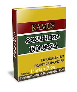 Kamus Bahasa Sangsekerta - Herlan Blog