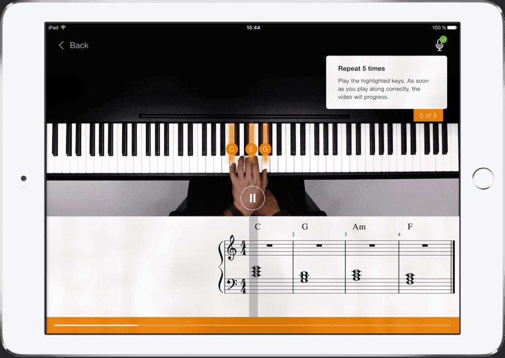 Aprende Piano Gratis con esta App