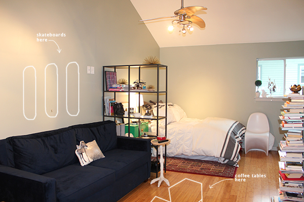 Gallery For Small Studio Apartment For Two