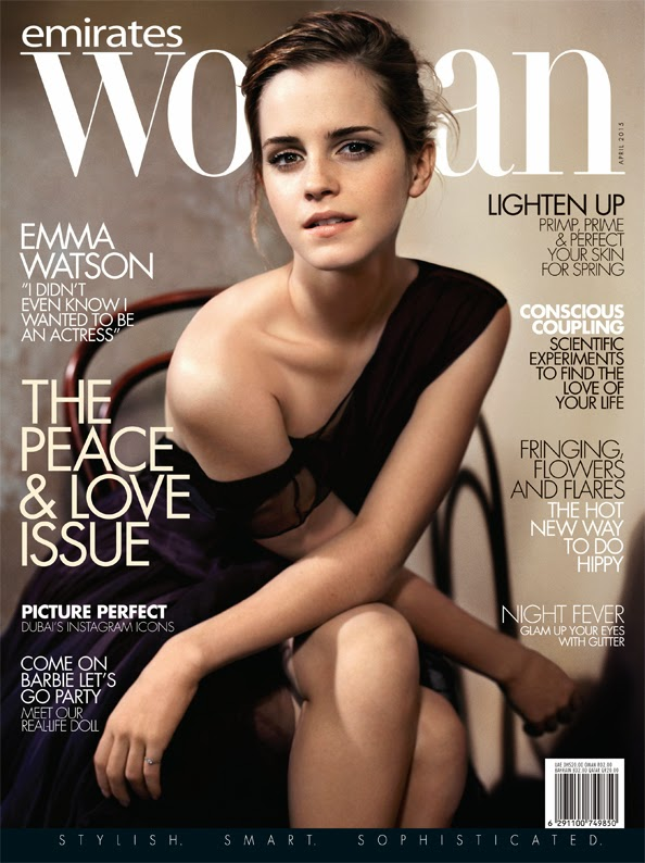 Actress, Model @ Emma Watson - Emirates Woman, April 2015