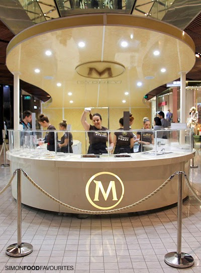 Simon food favourites make your own magnum at westfield for Magnum pop up shop