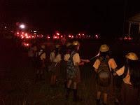 Pawai Obor Pramuka SMP St. Aloysius Gonzaga Singkawang Timur
