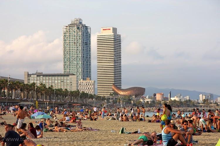 Пляжи Барселоны, Барселонета