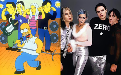 Smashing Pumpkins simpsons artis+kartun Tokoh tokoh selebriti dalam serial kartun The Simpson