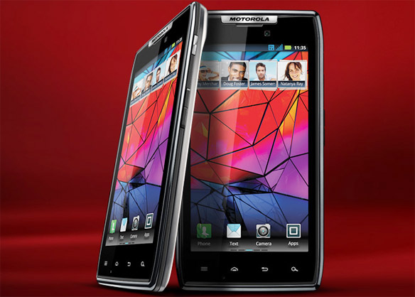 Motorola Droid RAZR nabs World's Ultra-Thin Smartphone, Motorola RAZR is back. Faster, Thinner, Smarter, Stronger