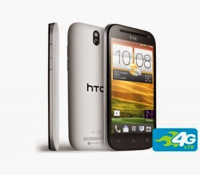 HTC One SV 4G Blanc Comparatif Smartphone 4.3 Pouces