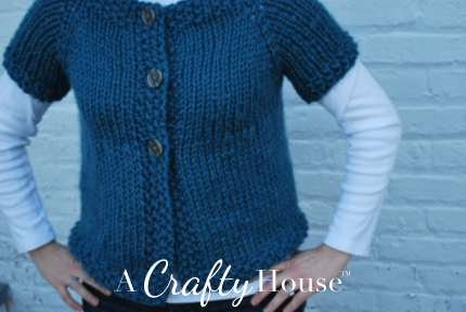 PATTERN CARDIGAN RAGLAN SLEEVE | Knitting and Crochet Patterns