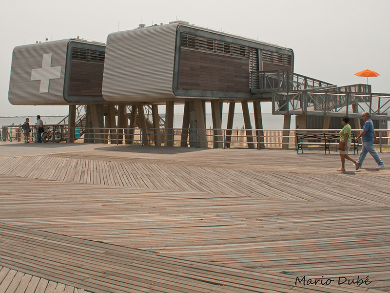 La promenade en planches de Coney Island (Brooklyn)
