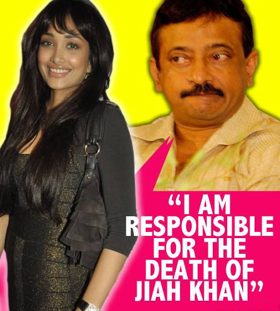 Ram Gopal Varma admits responsibility for Jiah Khan's death