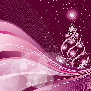 美しいクリスマスの背景 4種 beautiful christmas background vector イラスト素材1