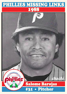 Phillies Missing Links of the 1980s – #15 Salome Barojas